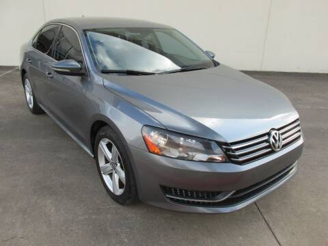 2012 Volkswagen Passat for sale at QUALITY MOTORCARS in Richmond TX