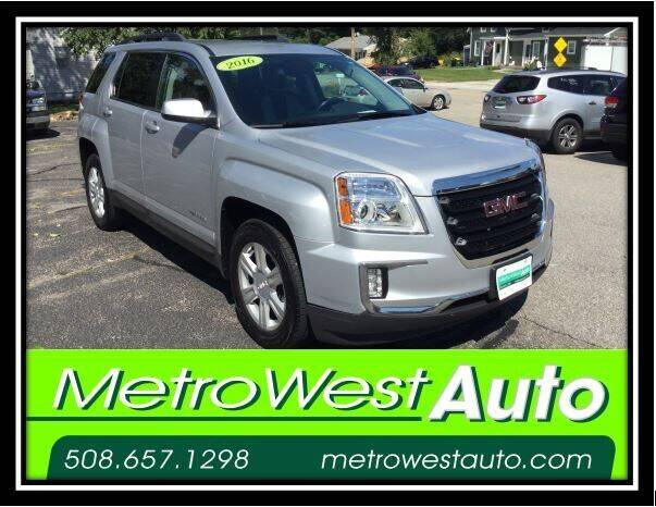 2016 GMC Terrain for sale at Metro West Auto in Bellingham MA