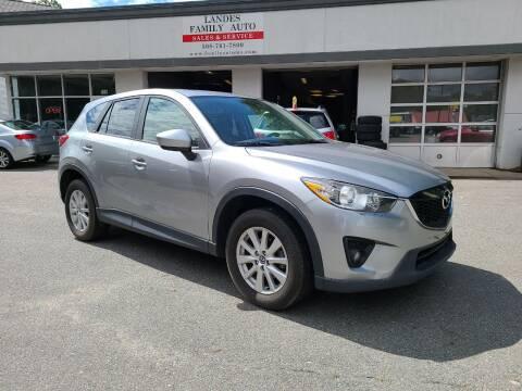 2013 Mazda CX-5 for sale at Landes Family Auto Sales in Attleboro MA