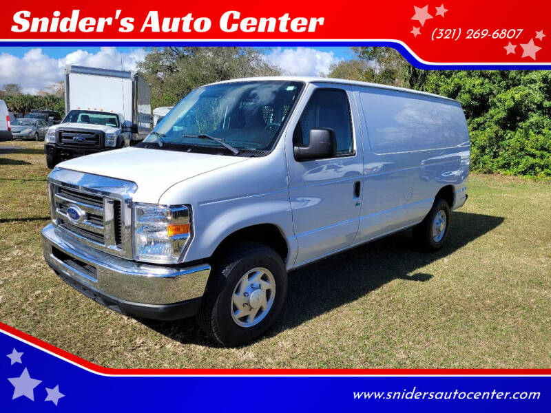 2014 Ford E-Series Cargo for sale at Snider's Auto Center in Titusville FL