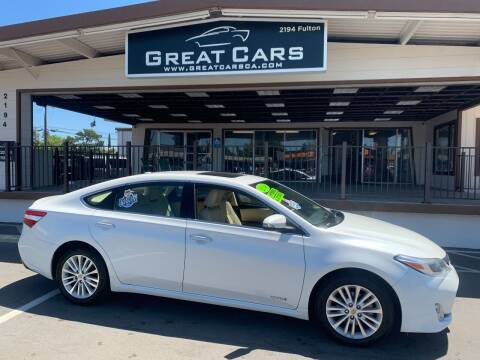2014 Toyota Avalon Hybrid for sale at Great Cars in Sacramento CA