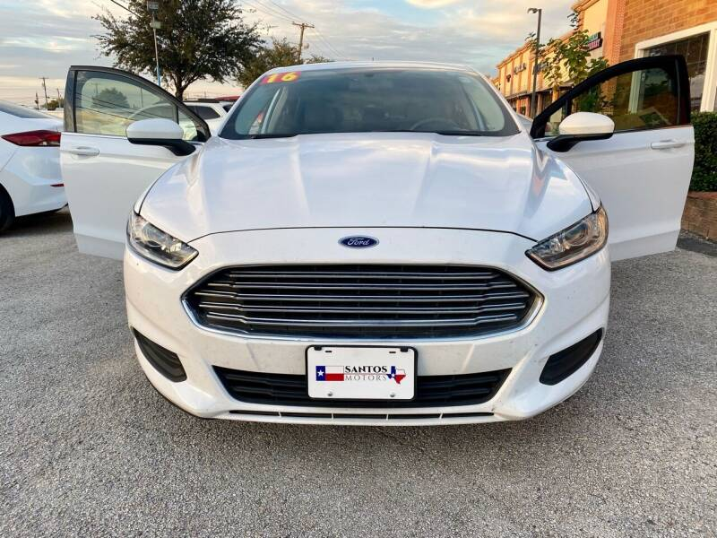 2016 Ford Fusion for sale in Lewisville, TX
