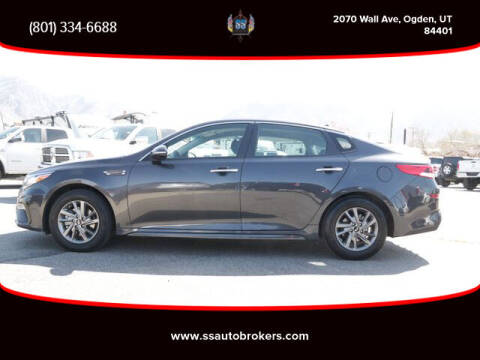 2019 Kia Optima for sale at S S Auto Brokers in Ogden UT