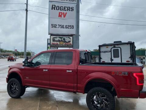 2015 Ford F-150 for sale at ROGERS RV in Burnet TX