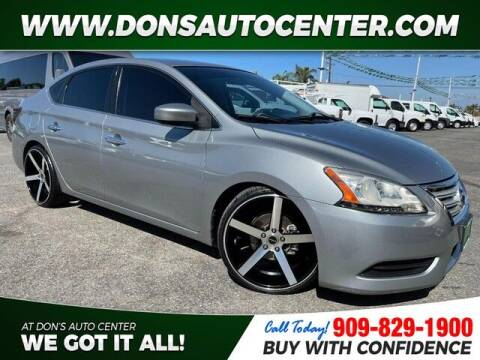 2014 Nissan Sentra for sale at Dons Auto Center in Fontana CA