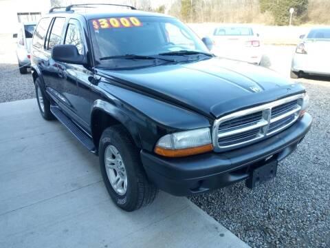 2003 Dodge Durango for sale at Beechwood Motors in Somerville OH