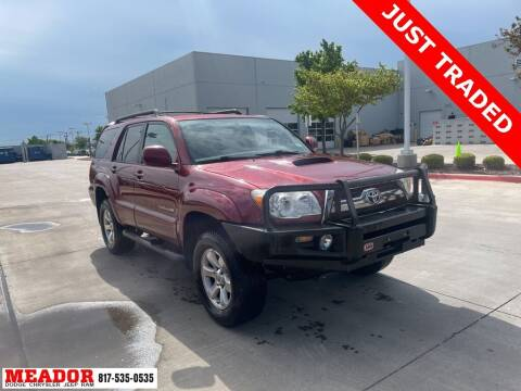 2006 Toyota 4Runner for sale at Meador Dodge Chrysler Jeep RAM in Fort Worth TX