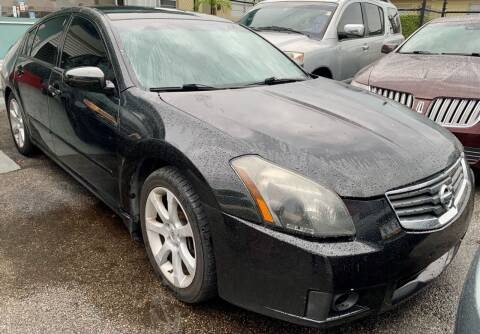 2007 Nissan Maxima for sale at Naber Auto Trading in Hollywood FL
