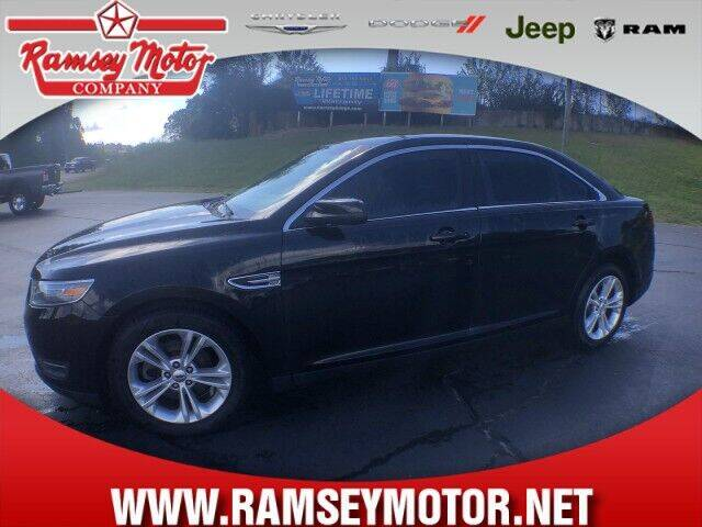 2013 Ford Taurus for sale at RAMSEY MOTOR CO in Harrison AR