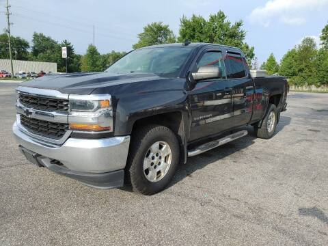 2016 Chevrolet Silverado 1500 for sale at Cruisin' Auto Sales in Madison IN