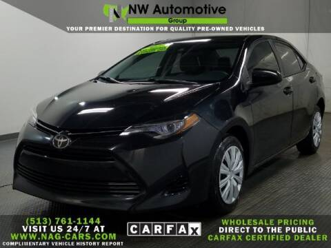 2017 Toyota Corolla for sale at NW Automotive Group in Cincinnati OH