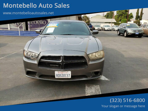 2011 Dodge Charger for sale at Montebello Auto Sales in Montebello CA