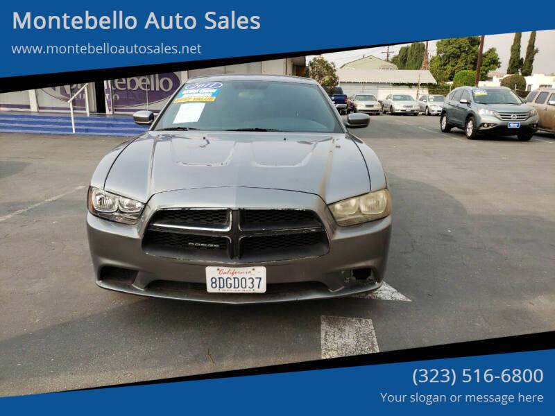 2011 Dodge Charger for sale at Montebello Auto Sales in Montebello CA