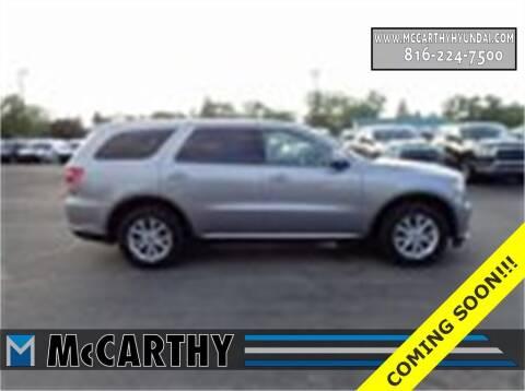 2019 Dodge Durango for sale at Mr. KC Cars - McCarthy Hyundai in Blue Springs MO
