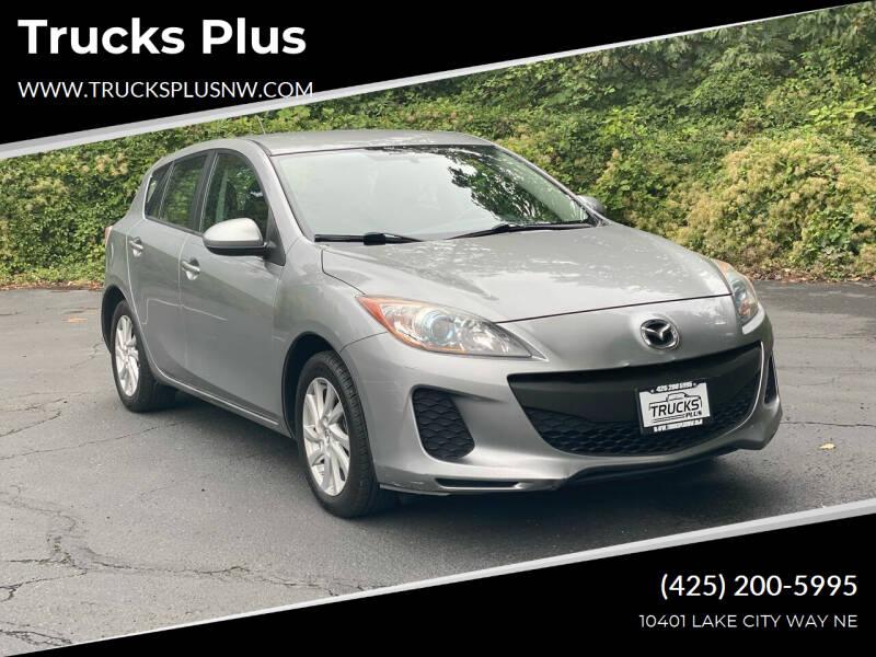 2012 Mazda MAZDA3 for sale at Trucks Plus in Seattle WA