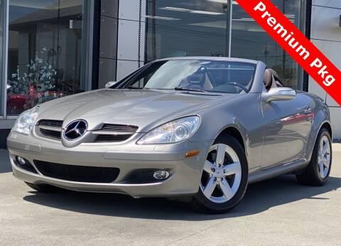 2006 Mercedes-Benz SLK for sale at Carmel Motors in Indianapolis IN