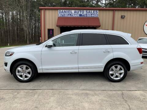 2013 Audi Q7 for sale at Daniel Used Auto Sales in Dallas GA