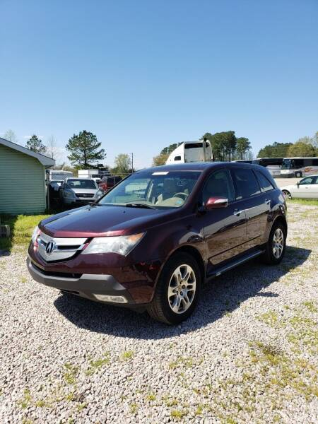 2009 Acura MDX for sale at JM Car Connection in Wendell NC