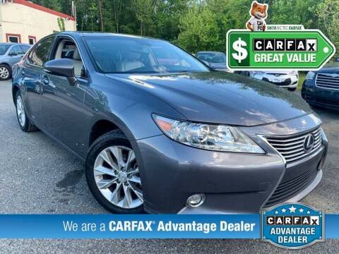 2014 Lexus ES 300h for sale at High Rated Auto Company in Abingdon MD
