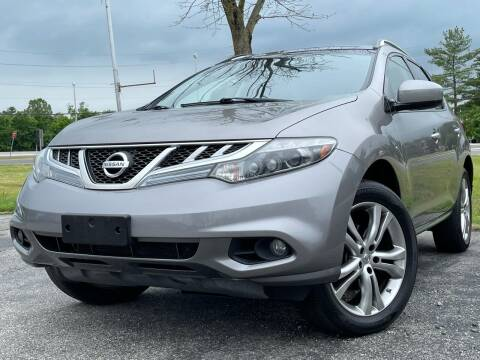 2012 Nissan Murano for sale at MAGIC AUTO SALES in Little Ferry NJ