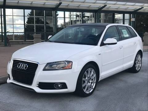 2013 Audi A3 for sale at GO AUTO BROKERS in Bellevue WA