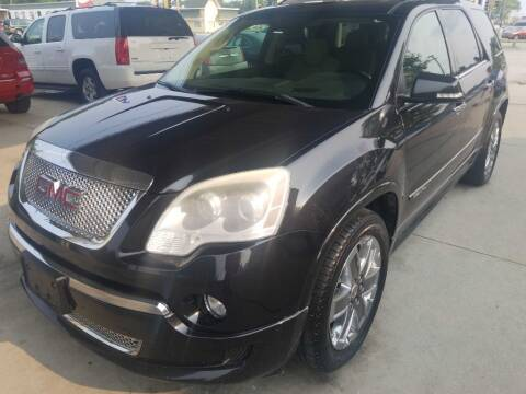 2012 GMC Acadia for sale at SpringField Select Autos in Springfield IL