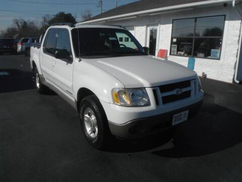 2002 Ford Explorer Sport Trac for sale at Morelock Motors INC in Maryville TN
