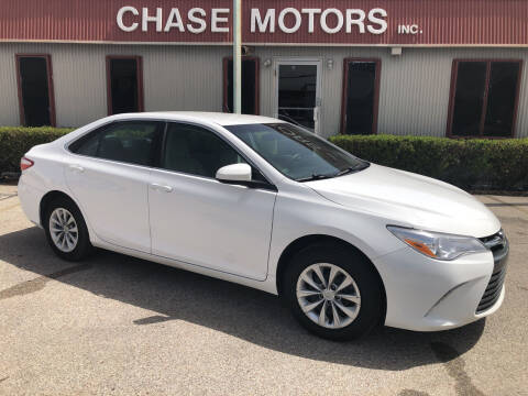 2017 Toyota Camry for sale at Chase Motors Inc in Stafford TX