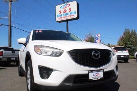 2014 Mazda CX-5 for sale at S&S Best Auto Sales LLC in Auburn WA