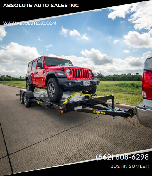 2021 Big Tex 70DM-20BK for sale at ABSOLUTE AUTO SALES INC in Corinth MS