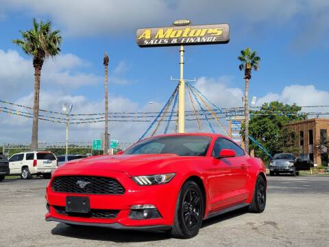 2015 Ford Mustang for sale at A MOTORS SALES AND FINANCE - 6226 San Pedro Lot in San Antonio TX