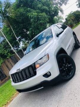 2012 Jeep Grand Cherokee for sale at IRON CARS in Hollywood FL