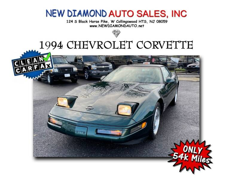 1994 Chevrolet Corvette for sale at New Diamond Auto Sales, INC in West Collingswood NJ