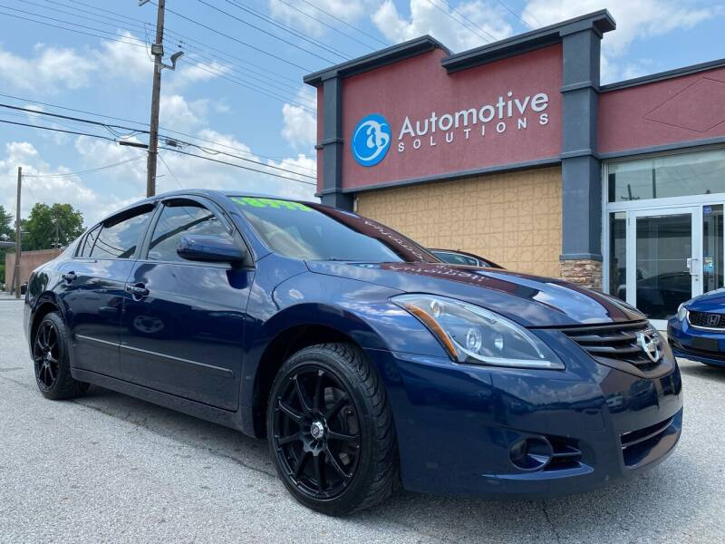 2012 Nissan Altima for sale at Automotive Solutions in Louisville KY