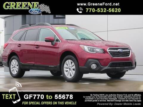 2018 Subaru Outback for sale at NMI in Atlanta GA