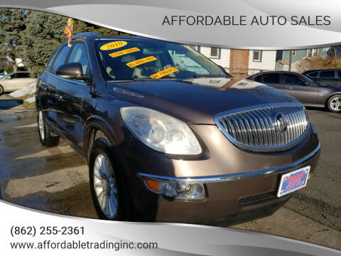 2010 Buick Enclave for sale at Affordable Auto Sales in Irvington NJ