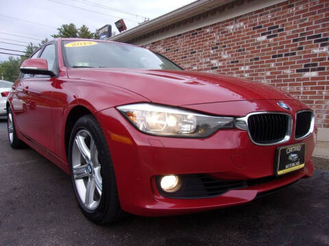 2013 BMW 3 Series for sale at Certified Motorcars LLC in Franklin NH
