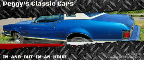 1976 Mercury Cougar for sale at Peggy's Classic Cars in Oregon City OR