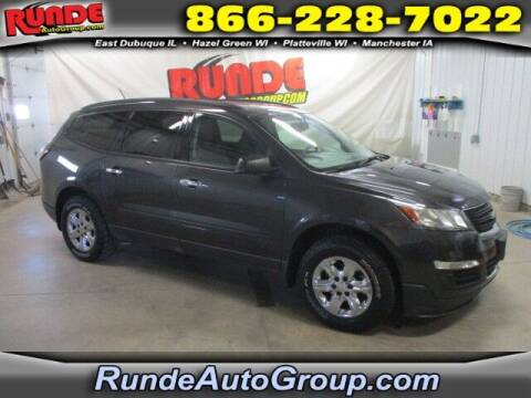 2015 Chevrolet Traverse for sale at Runde Chevrolet in East Dubuque IL