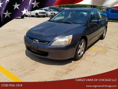 2004 Honda Accord for sale at Cargo Vans of Chicago LLC in Mokena IL