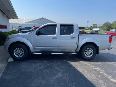 2016 Nissan Frontier for sale at B & W Auto in Campbellsville KY