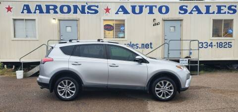 2017 Toyota RAV4 for sale at Aaron's Auto Sales in Corpus Christi TX