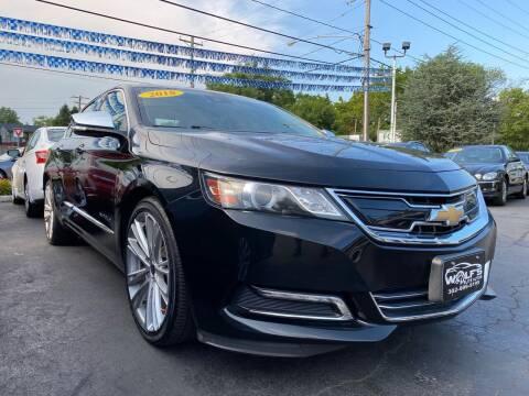 2018 Chevrolet Impala for sale at WOLF'S ELITE AUTOS in Wilmington DE