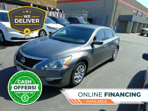 2015 Nissan Altima for sale at So Cal Performance in San Diego CA