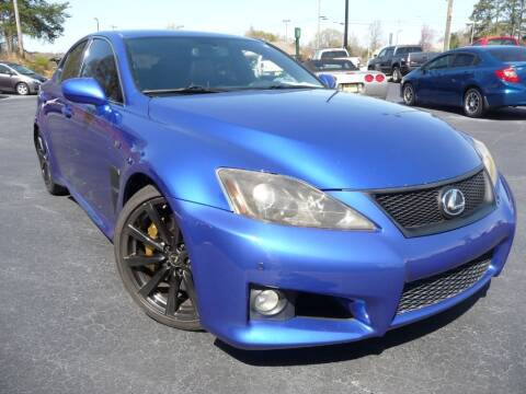 2008 Lexus IS F for sale at Wade Hampton Auto Mart in Greer SC