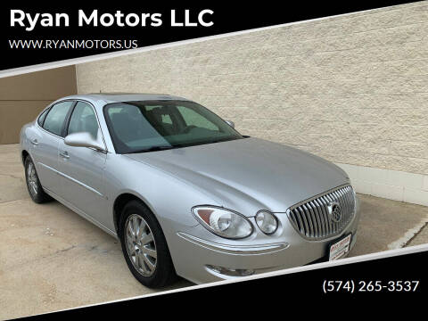 2009 Buick LaCrosse for sale at Ryan Motors LLC in Warsaw IN