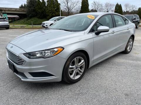2018 Ford Fusion for sale at Modern Automotive in Boiling Springs SC