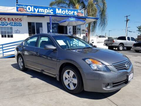 2007 Nissan Altima for sale at Olympic Motors in Los Angeles CA