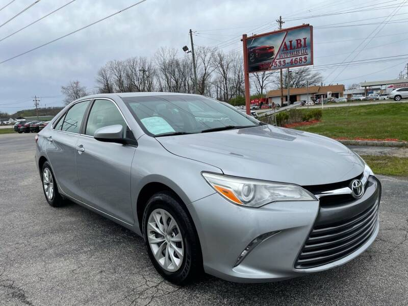 2015 Toyota Camry for sale at Albi Auto Sales LLC in Louisville KY