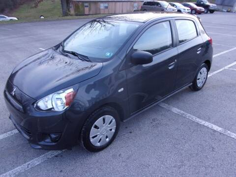 2015 Mitsubishi Mirage for sale at Pyles Auto Sales in Kittanning PA